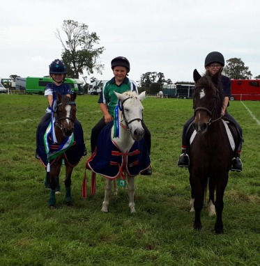 Sienna Williams-Ward, Timothy McNabney and Kenzie Watt were our top three in the fast and furious under 12's class